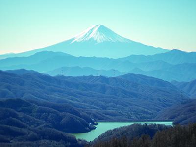 くらきが登った大菩薩嶺の画