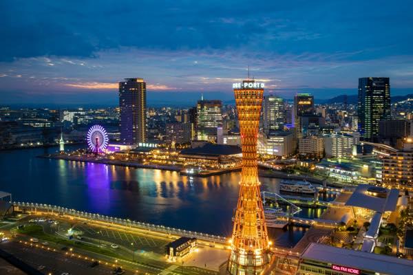 神戸市の夜景の写真