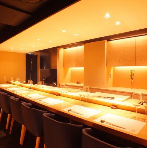 落ち着いた雰囲気の和食屋さんの写真