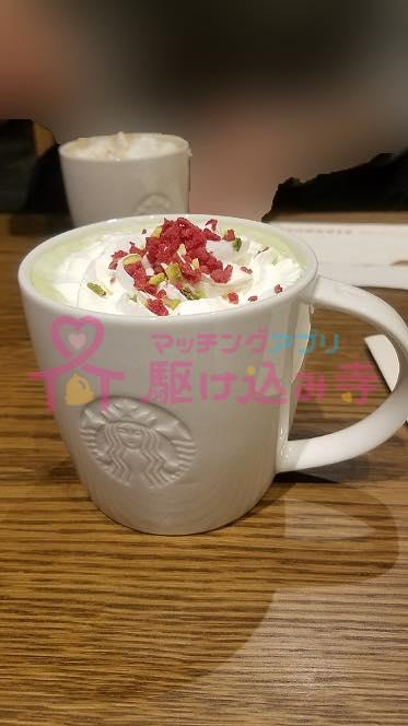 starbucksのコーヒーの写真