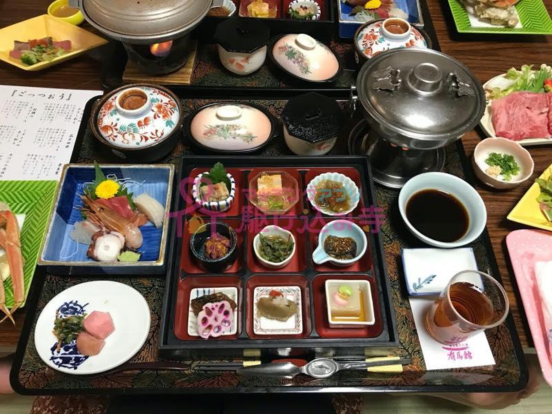 和食が並んだ写真