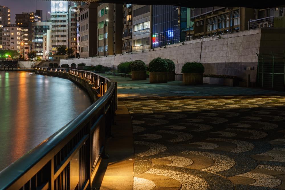 隅田川の夜の写真
