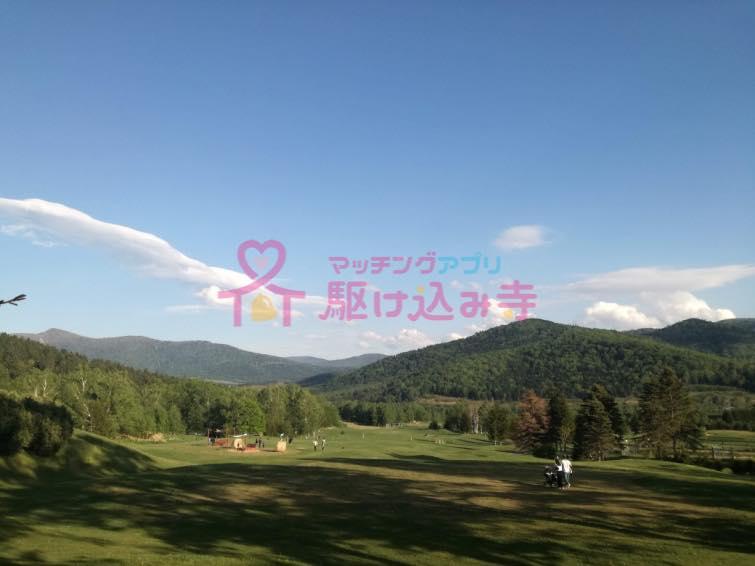 北海道トマムの自然の風景